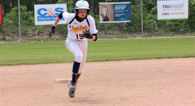 Softball Upset by Holland in District Opener
