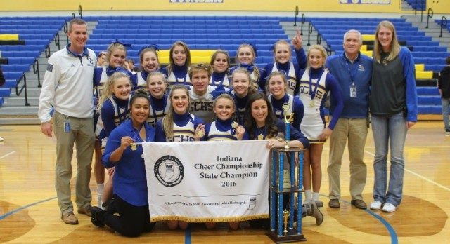 Cheer Team Wins State!!