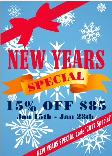 New Years Sideline Store Sale!