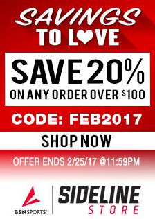 Final Week for February Team Store Sale!