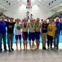 Men's Swimming State Run