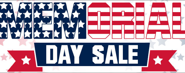 Memorial Day Sideline Store Sale!