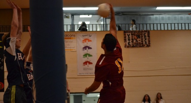 Big Time Effort, Big Time Performance, Big Time Win for Boys Volleyball