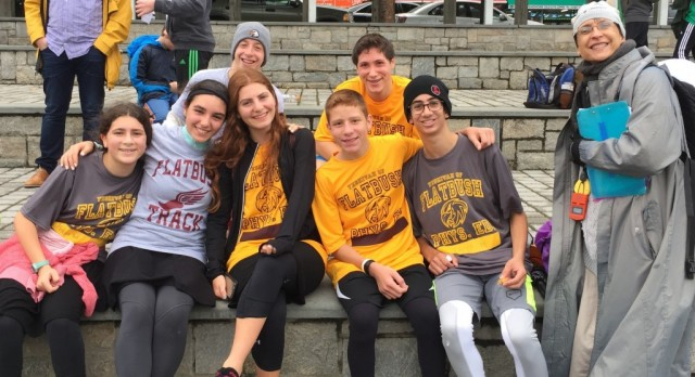 Fleet-Footed Falcons Top Field at 1st Cross Country Meet of the Season