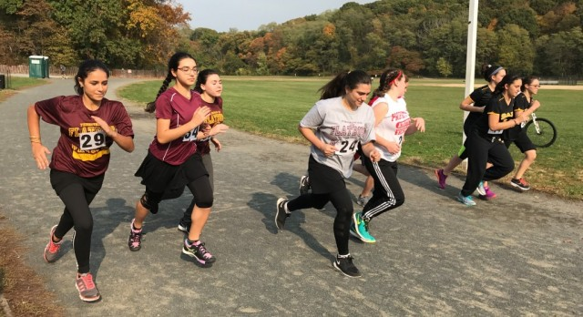 Falcon Flyers Give Repeat Performance at Van Cortlandt Park