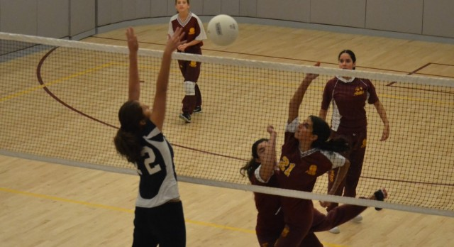 Girls Volleyball Takes the Court for First Serve Tournament