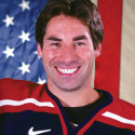 DENVER - SEPTEMBER 7:  stands for a portrait at the 2005 Men's Olympic Orientation Camp for USA Hockey on September 7, 2005 at World Arena in Colorado Springs, Colorado.    (Photo by Brian Bahr/Getty Images) *** Local Caption ***