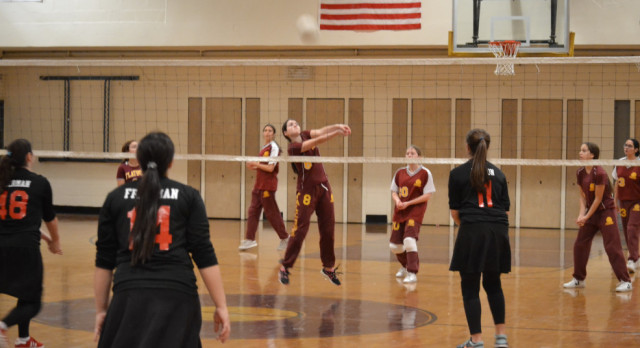 Home Cooking Helps JV Stay Undefeated, Varsity Falls in Epic 5-Set Battle