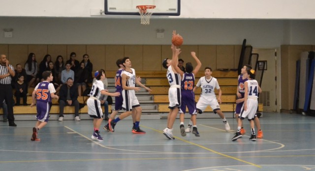 Defense Leads the Way for 8th & 7th Grade Boys