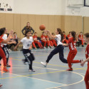 Girls Basketball 6th Grade v NSHA 1-15-17