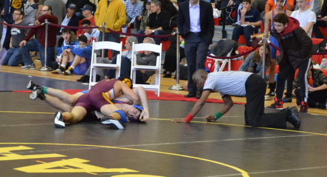 Wrestling Impresses at Wittenberg XXII