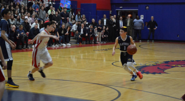 Almost! 8th Grade Boys' Late Rally Falls Short in Finals