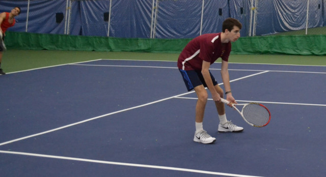 Tennis Splits Boys/Girls Doubleheader at Alley Pond