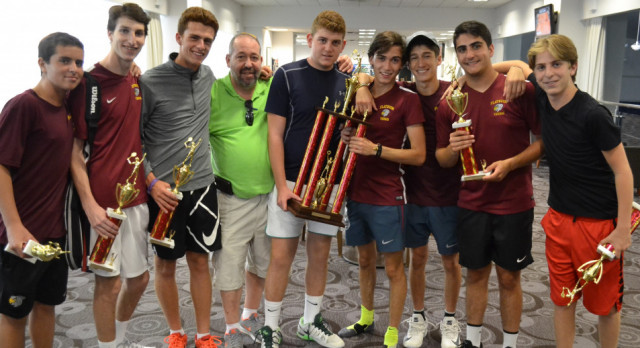 Epic Battles Yield Championship for Boys Tennis