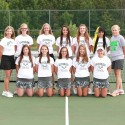 2014 Girls Tennis team