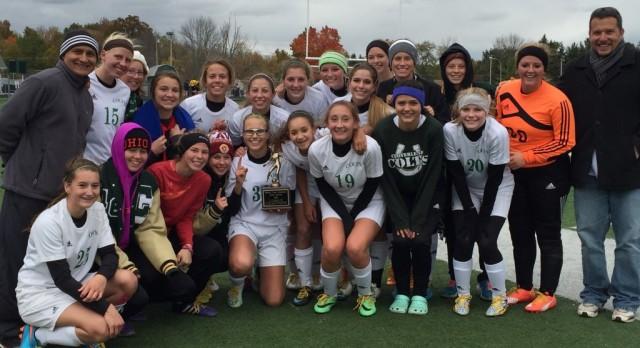 Girls Soccer wins PTC Title