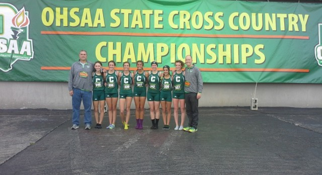 Girls XC:  8th at State