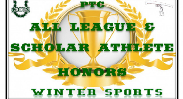PTC All-League & Scholar Athlete Selections:  Winter 2017