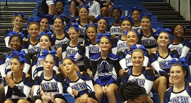 Cobra Cheer wins 4A at Cobra Cheer Classic
