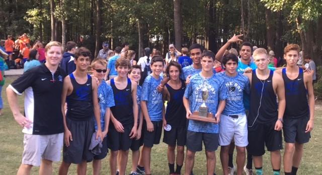 Boys Cross Country wins Region 8-4A Championship