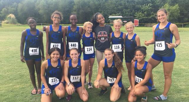 Girls Cross Country opens season with strong showing at Skyhawk Invitational