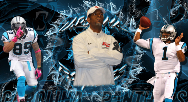 SCS Head Football Coach Angelo Cox Named Coach of the Week By The Carolina Panthers
