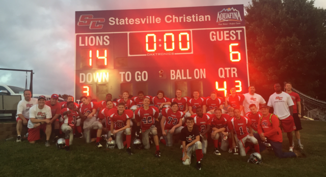SCS JV Football Writes Their Own Chapter In School History
