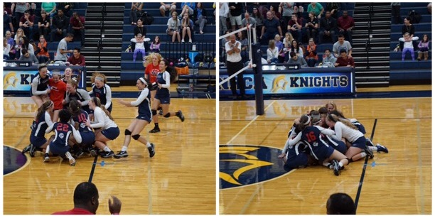 Volleyball Shows Heart of a Lion To Win Back 2 Back State Titles!
