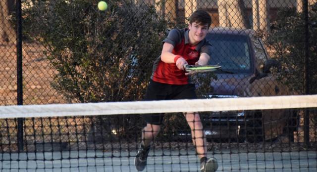SCS Tennis Defeats Woodlawn 7-2