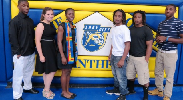 Six Panthers Sign To Continue Athletic Careers