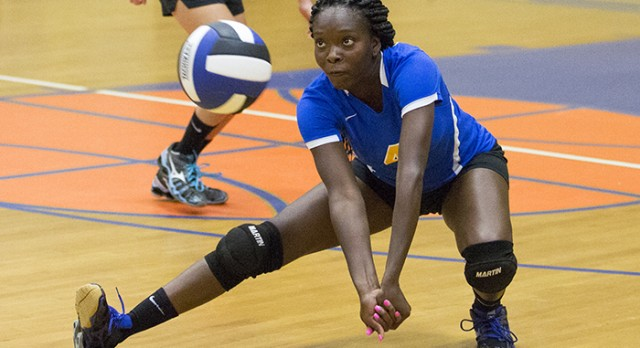 Lady Panthers Spike Wolverines (Gallery)