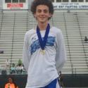 Noah Ward Tri County Champion and Breaks School Record