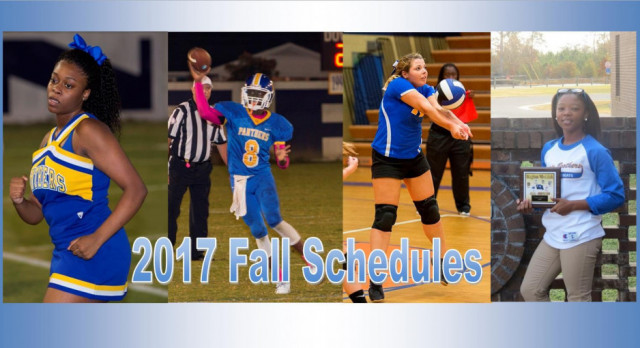 2017 LCHS Fall Athletics Schedules