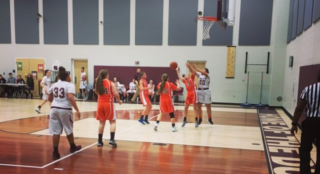 Junior High Girls Win First Games, Home Opener Thursday