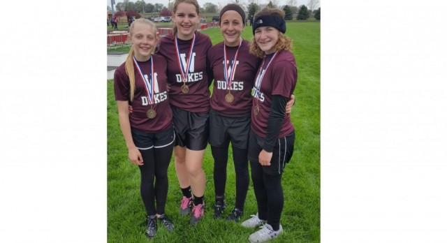 Jr. High Track Finishes Season