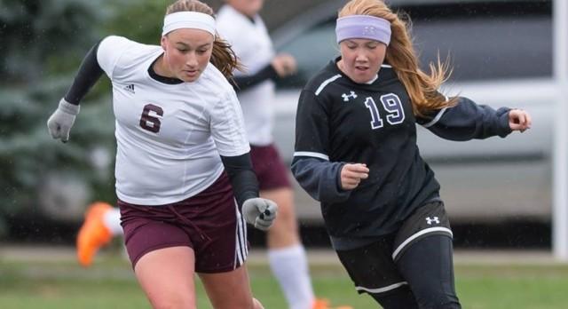 Girls Soccer Wins Big, Sam Sparks Sets Record