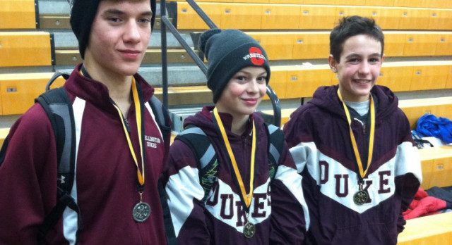 Junior High Wrestling PAC Results