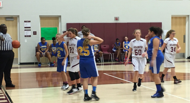 Junior High Girls Basketball Tournament