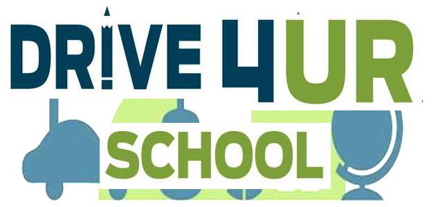 Reminder: Drive 4 Ur School Event Tomorrow!