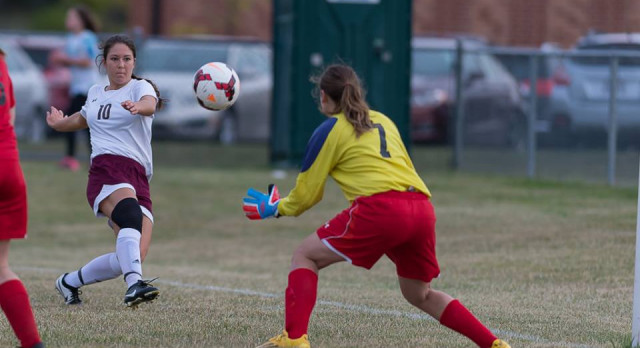 Girls Soccer Chasing PAC Title