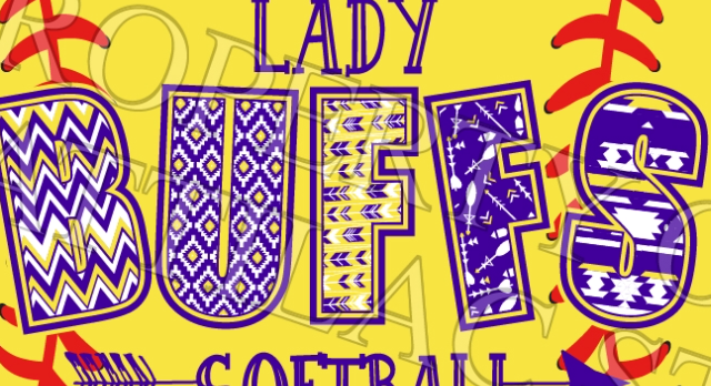 Lady Buffs Softball shirts