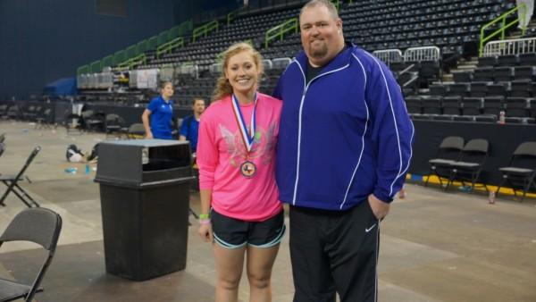 Taryn and Coach Kelley