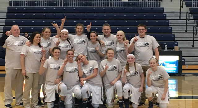 Lady Cougars Basketball Team Wins The SWOC