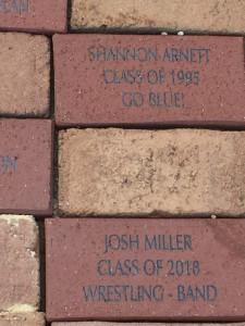 Booster Brick Fundraiser
