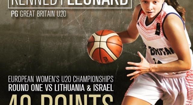 Kennedy Leonard tears up European Championships