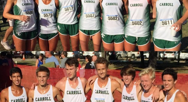Carroll Cross Country pulls off dual District Championship