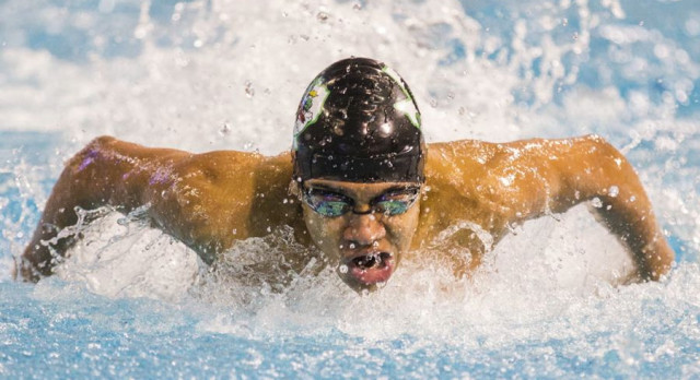 Dragon Swimmers jump back into action at Ranger Relays