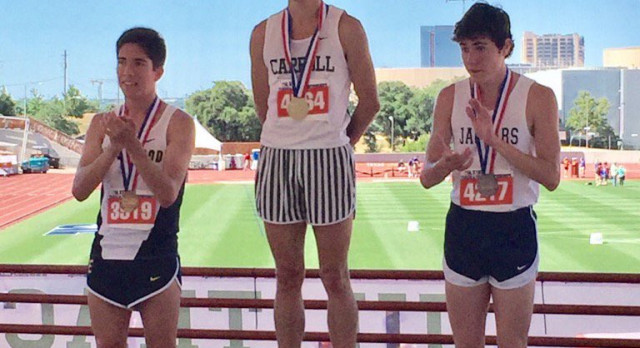 Golden again – Reed Brown captures 3200M at UIL state