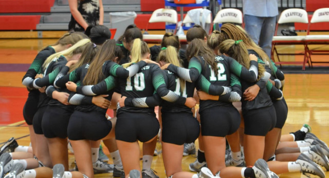 Lady Dragon Volleyball sweeps Day 1 at NISD Classic