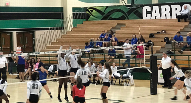Lady Dragon Volleyball returns to 5-6A win column